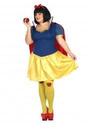 Costume principessa della foresta per donna taglia grande