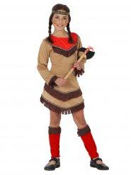 Costume da indiana selvaggia per bambina