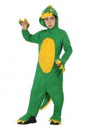 Costume verde da dinosauro per bambino