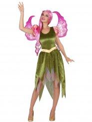 Costume elfo verde per donna