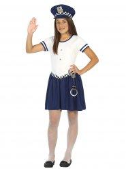 Costume da piccola poliziotta per bambina