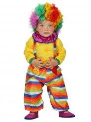 Costume bébé clown del circo