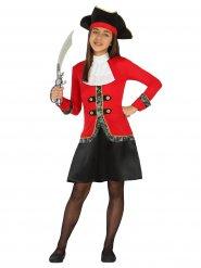 Costume Pirata bucaniere bambina