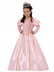 Costume da principessa rosa per bambina