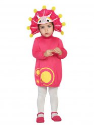 Costume da dinosauro rosa per bambina