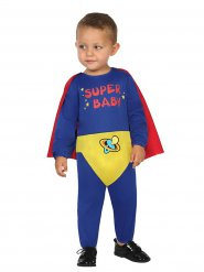 Costume tuta da supereroe per bebe