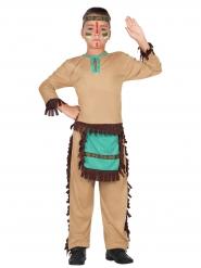 Costume indiano del farwest bambino