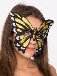 Image of Maschera da farfalla con brillantini per donna