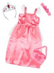 Travestimento kit da principessa rosa per bambina