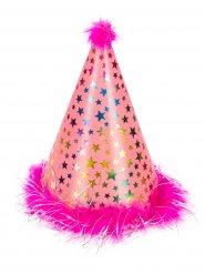Cappello a punta da principessa in rosa
