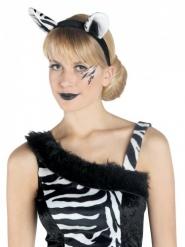 Cerchietto zebra per adulto