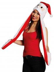 Cappello Babbo natale con sciarpa e guanti per adulto