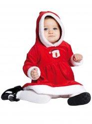 Costume da piccola miss natale per bebe