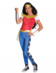 Costume lusso Wonder Woman™ per bambina DC Super Hero Girls™