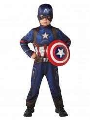 Costume Captain America Civil War™ con scudo per bambino