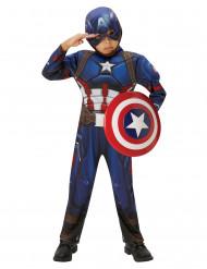 Costume Captain America Civil War™ Marvel™ per bambino