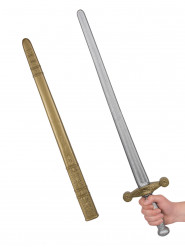 Spada da cavaliere medievale per adulto 80 cm