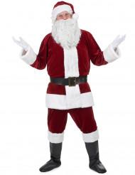 Costume da Babbo Natale super lusso per adulto