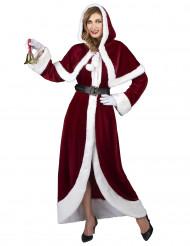 Costume Mamma Natale super lusso da donna