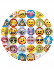 8 Piatti di carta Emoji™