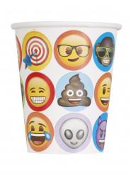 8 bicchieri in cartone Emoji™