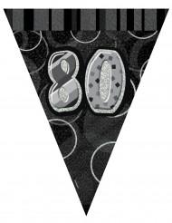 Ghirlanda grigia 80 anni 2.74 m