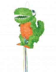 Pignatta verde dinosauro