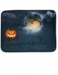 Zerbino luminoso e sonoro con paesaggio halloween