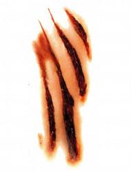Tatuaggio graffi da lupo mannaro halloween
