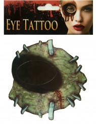Tatuaggio zombi per adulto