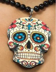Collana testa scheletro donna