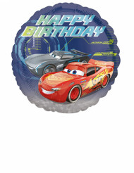 Palloncino alluminio Happy Birthday Cars 3™ 43 cm