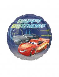 Palloncino alluminio Happy Birthday Cars 3™ 43 cm