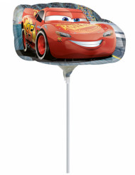 Palloncino piccolo in alluminio Cars 3™ Gonfio