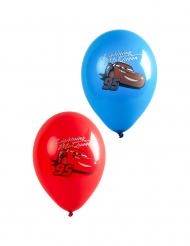 6 palloncini in lattice blu e rossi Cars™
