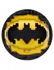 8 Piatti in cartone Lego Batman™ 23 cm