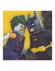 20 tovaglioli di carta Lego Batman™
