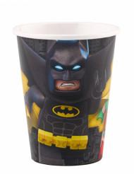 8 Bicchieri in cartone Lego batman™