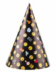 8 Cappelini da festa Smiley Emoticons™