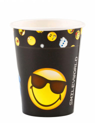 8 Bicchieri di carta Smiley Emoticons™