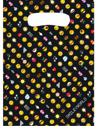 8 Bustine regalo in plastica Smiley emoticons™