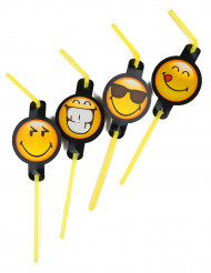8 cannucce in smiley emoticons™