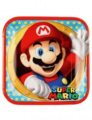 8 piatti quadrati Super Mario™