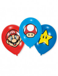 6 Palloncini in lattice Super Mario™