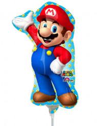Palloncino in alluminio Super Mario™ gonfiato