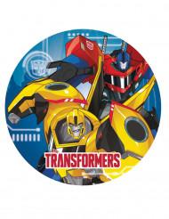 8 Piatti di carta da 23 cm Transformers Robots in Disguise™