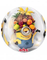 Palloncino trasparente Minions™ con frutta