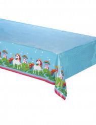 Tovaglia di plastica Unicorno arcobaleno 120x180 cm