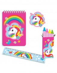 Set di Cartoleria Unicorno