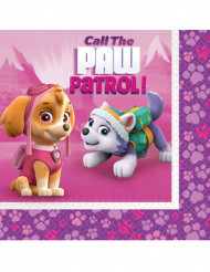 20 Tovaglioli Paw Patrol™ rosa